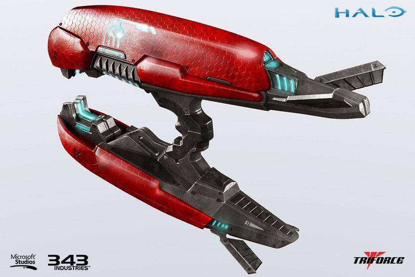 Halo 2 Replica 1/1 Brute Plasma Rifle Anniversary Edition 62 cm