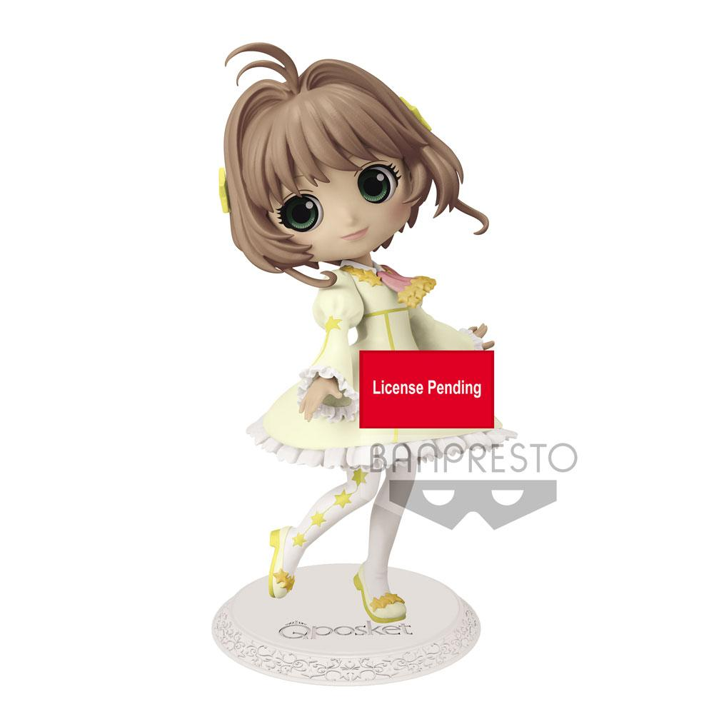 Cardcaptor Sakura Q Posket Mini Figure Sakura Kinomoto Ver. A Vol. 3 14 cm