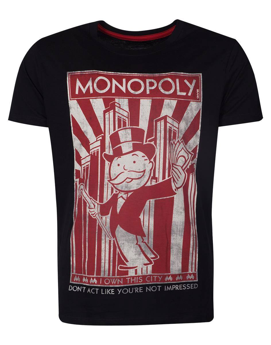 Monopoly T-Shirt I Own The City  Size L