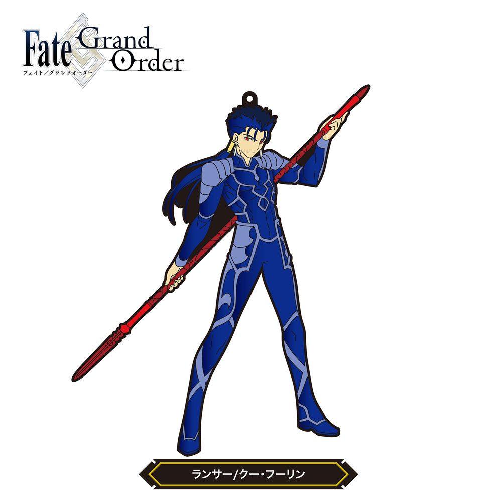 Fate/Grand Order Rubber Strap Lancer/Cu Chulainn 15 cm