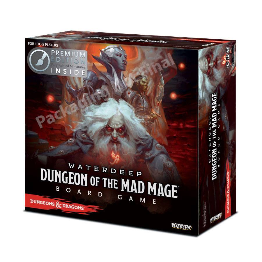 Dungeons & Dragons Board Game Waterdeep Dungeon of the Mad Mage Premium Edition *English Version*