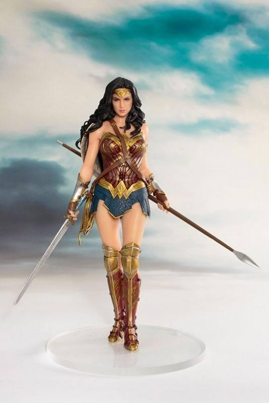 Justice League Movie ARTFX+ Statue 1/10 Wonder Woman 19 cm