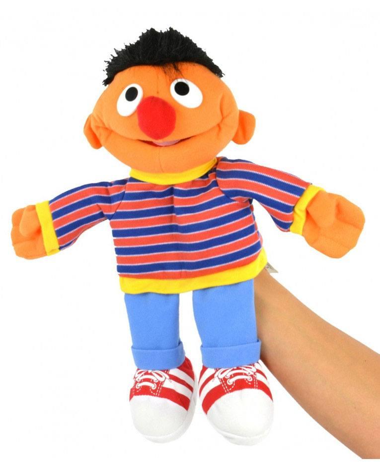 Sesame Street Hand Puppet Ernie 35 cm