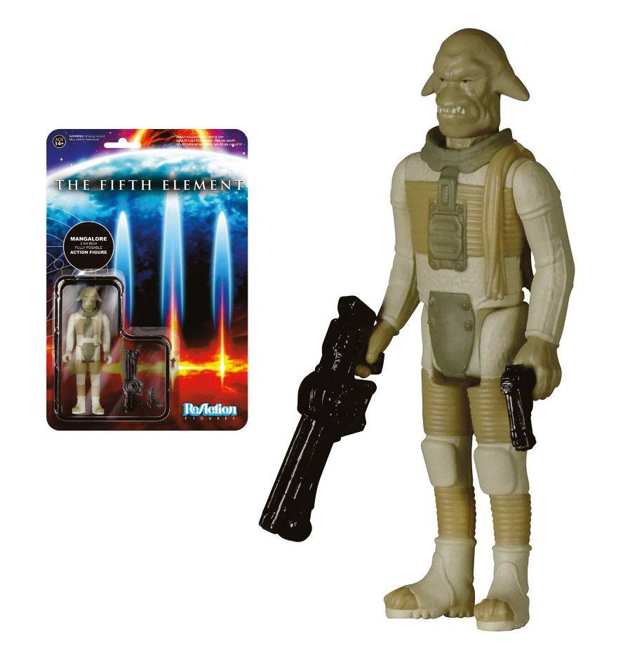Fifth Element ReAction Action Figure Mangalore 10 cm