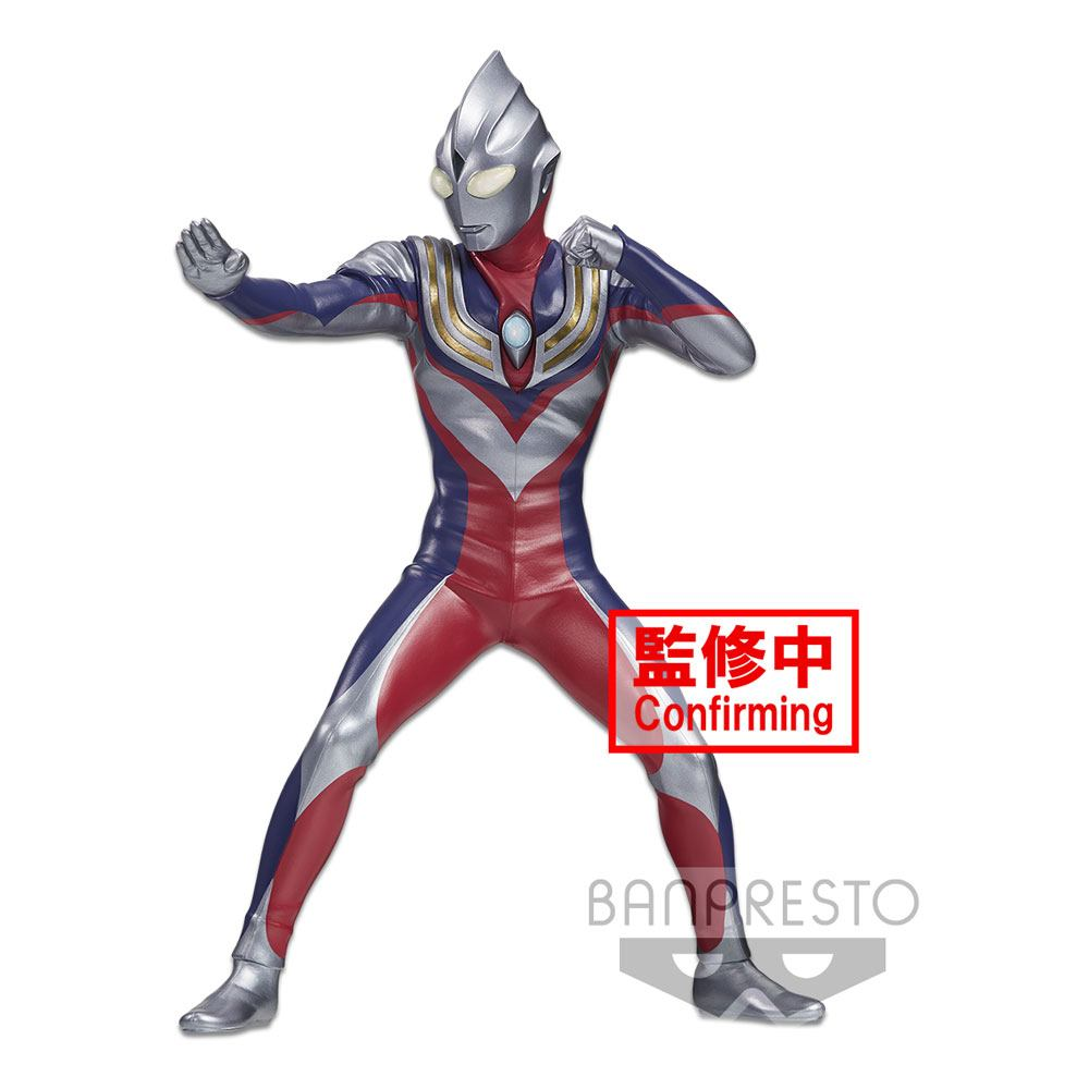 Ultraman Tiga Hero's Brave PVC Statue Ultraman Tiga Day & Night Special Ver. 18 cm