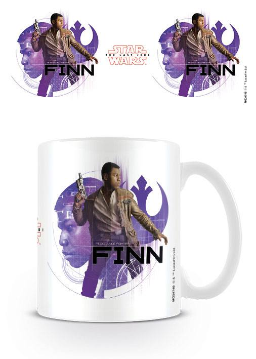 Star Wars Episode VIII Mug Finn Icons