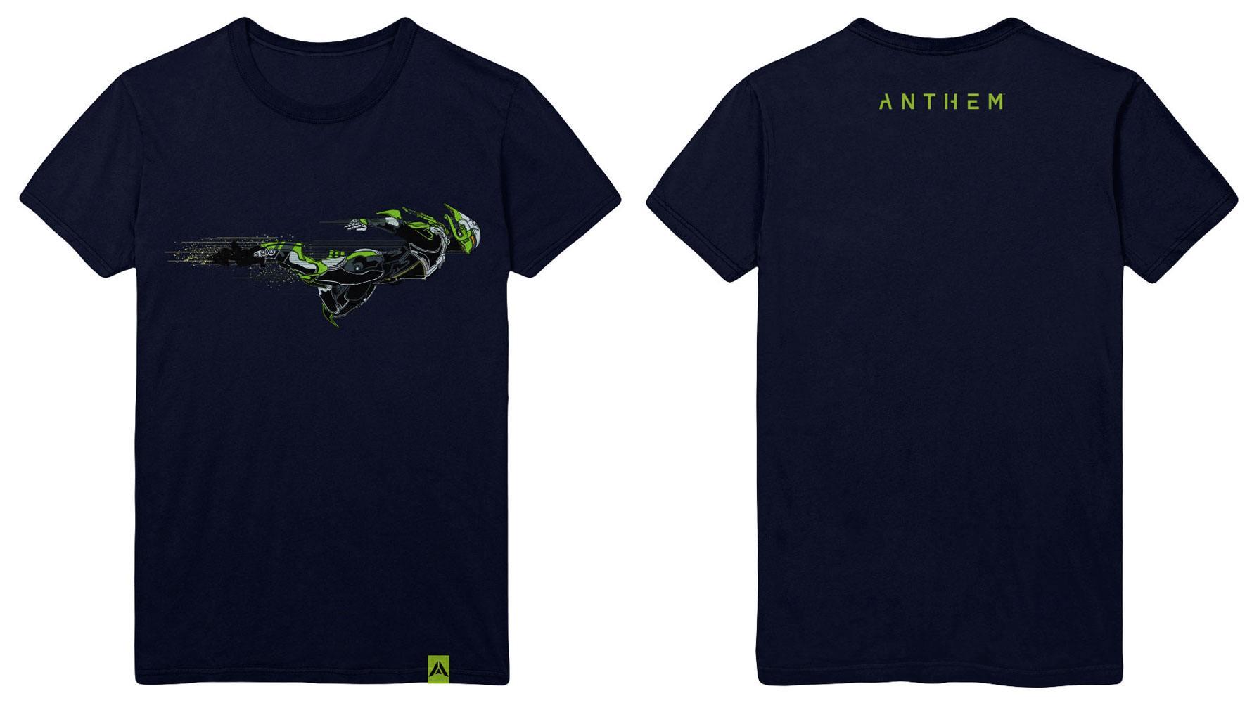Anthem T-Shirt Interceptor Class Size L
