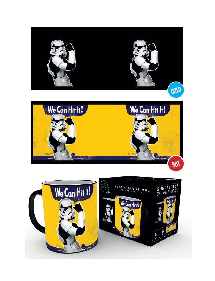 Original Stormtrooper Heat Change Mug We Can Hit It