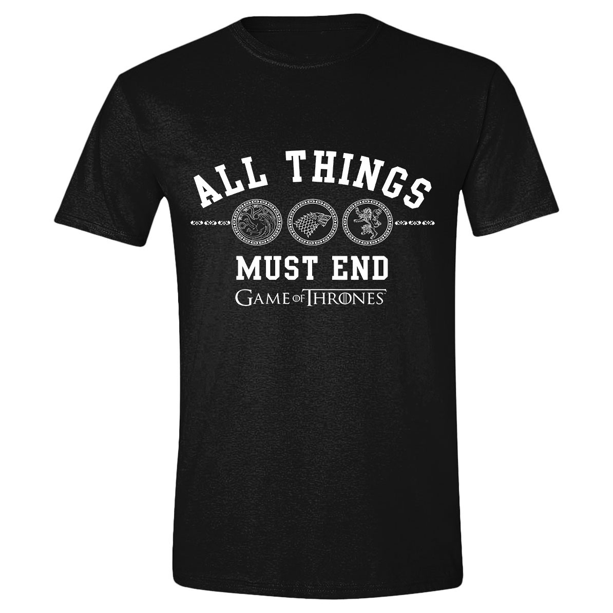 Game of Thrones T-Shirt All Things Must End Size S