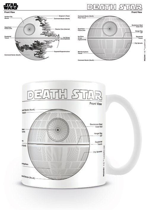 Star Wars Mug Death Star Sketch