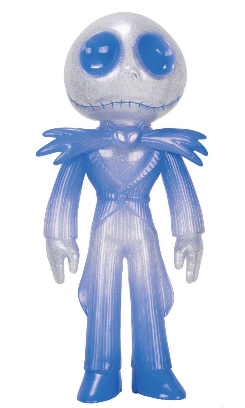 Nightmare before Christmas Sofubi Vinyl Action Figure Jack Skellington (Ice Blue) 19 cm