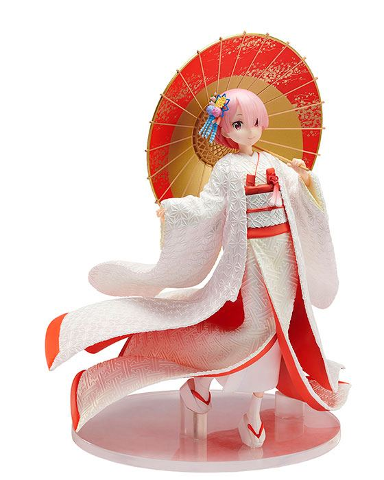 Re:ZERO -Starting Life in Another World- PVC Statue 1/7 Ram -Shiromuku- 24 cm