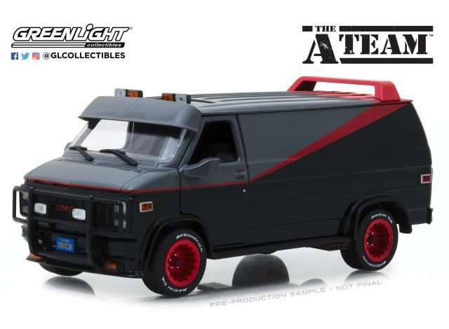 A-Team Diecast Model 1/24 1983 GMC Vandura