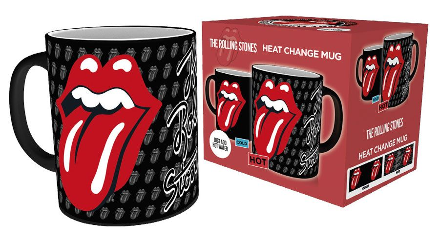 Rolling Stones Heat Change Mug Tongue