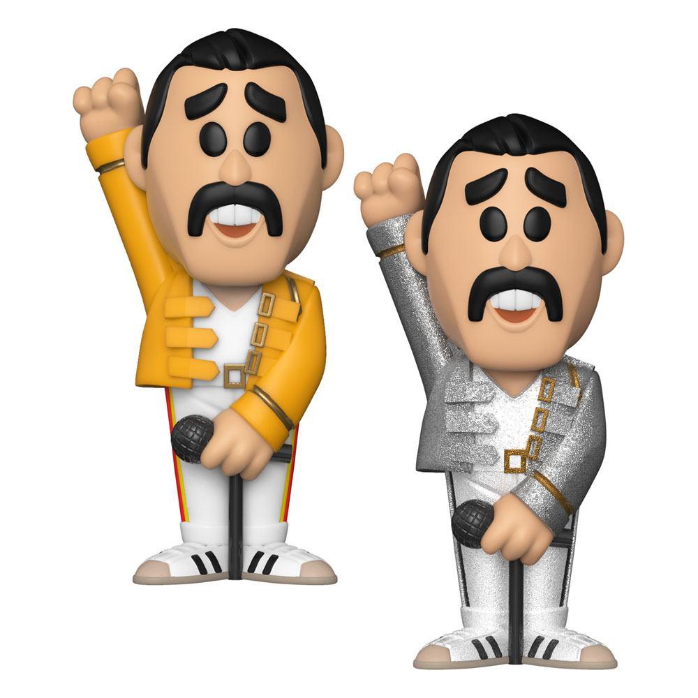 Queen POP! Movies Vinyl SODA Figures Freddie Mercury 11 cm Assortment (6)