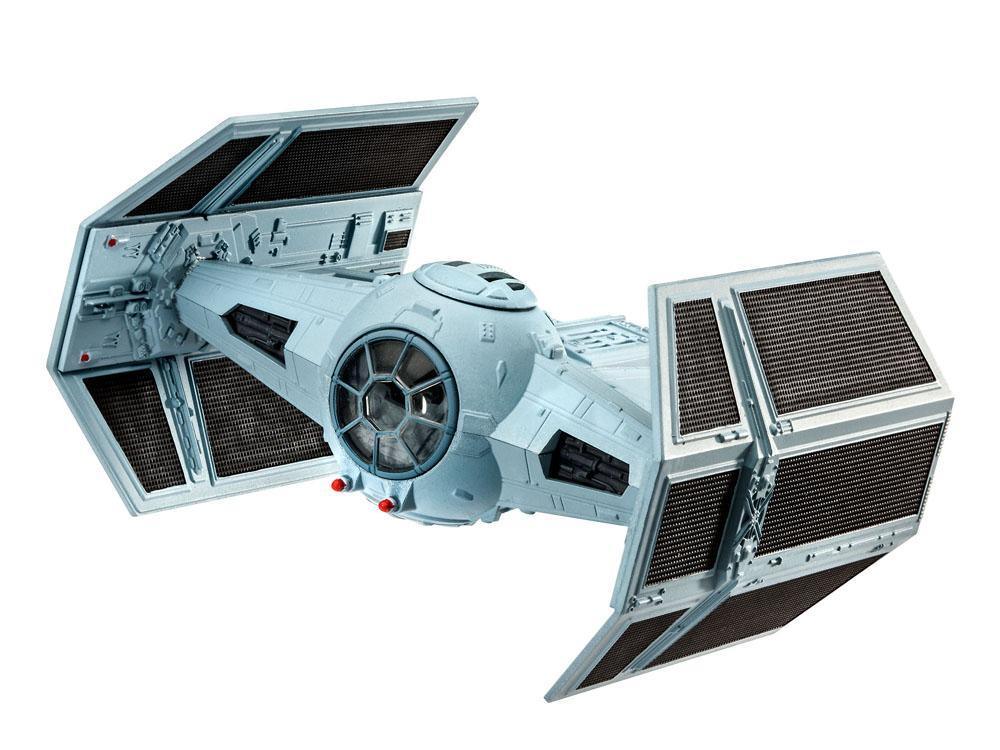 Star Wars Episode VII Model Kit 1/121 Darth Vader's Tie Fighter 9 cm