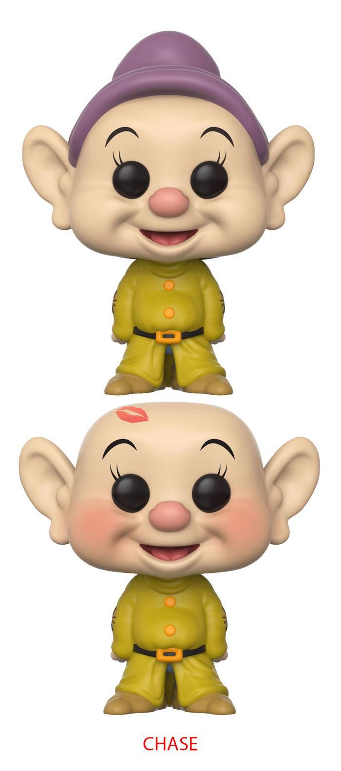 Snow White and the Seven Dwarfs POP! Disney Figures Dopey 9 cm Assortment (6)