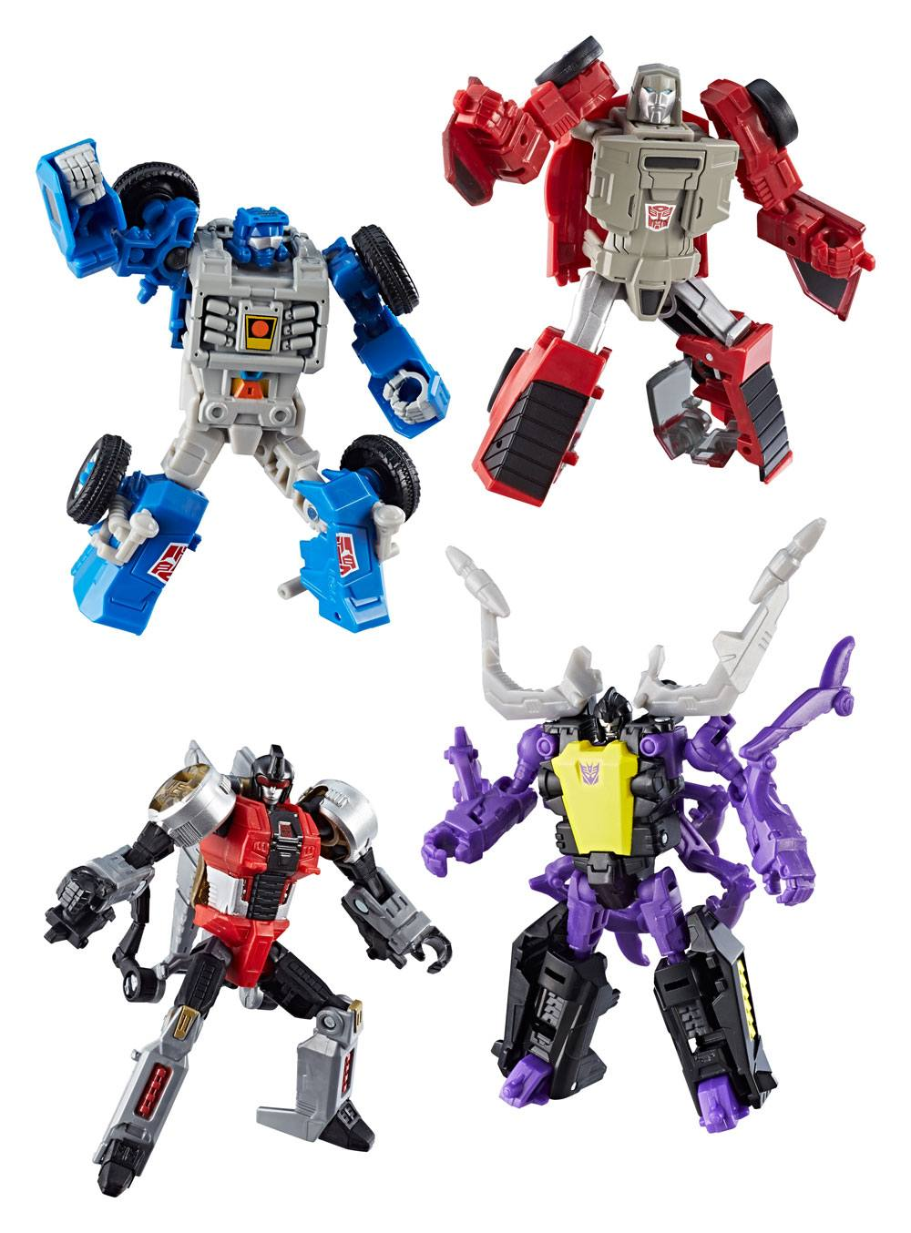 Transformers Generations Power of the Primes Action Figures Legends Class 2018 Wave 1 Assortment (8)