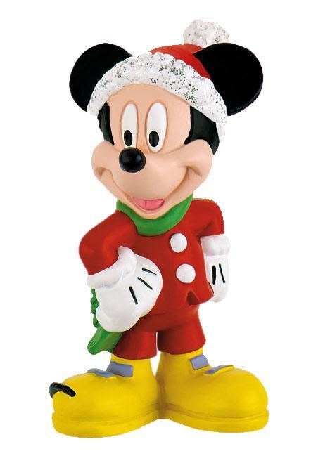 Disney Mickey Mouse & Friends Figure Mickey Christmas 7 cm