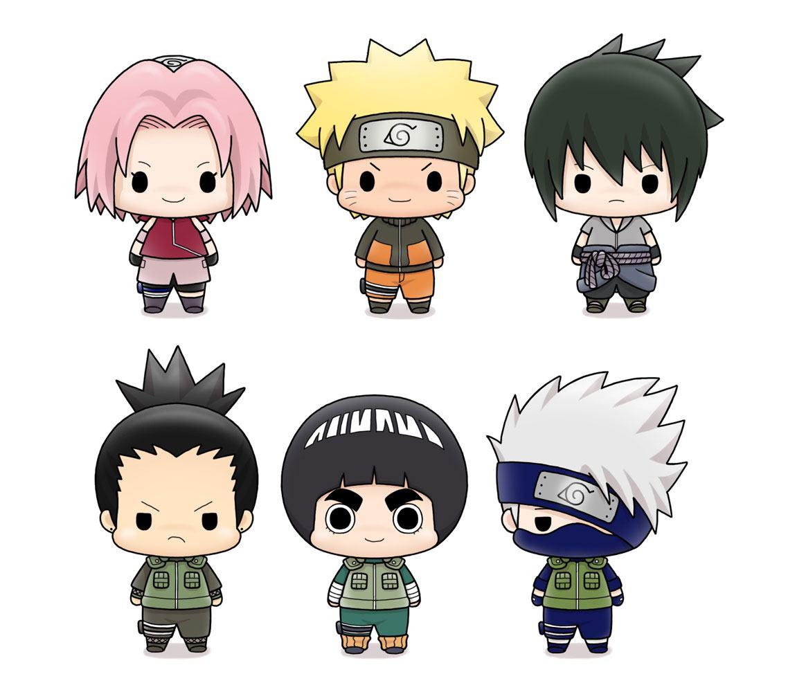 Naruto Shippuden Chokorin Mascot Series Trading Figure 5 cm Assortment (6)