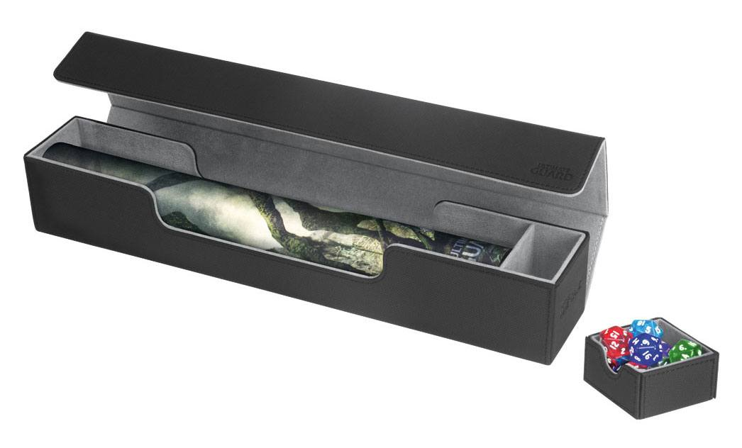 Ultimate Guard Flip´n´Tray Mat Case XenoSkin™ Black
