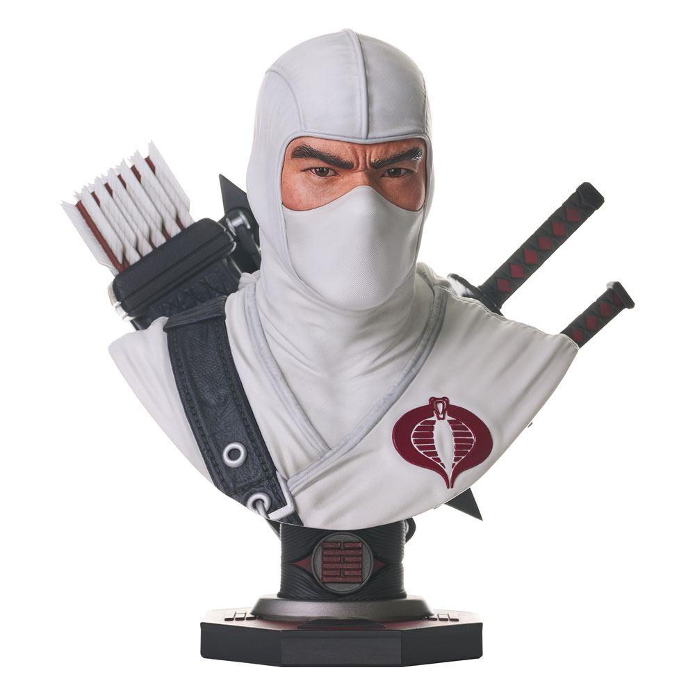 G.I. Joe Legends in 3D Bust 1/2 Storm Shadow 25 cm