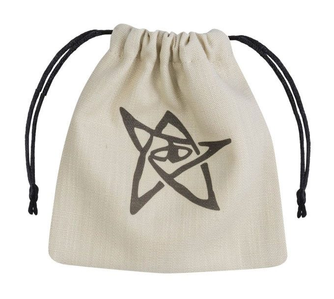 Call of Cthulhu Dice Bag beige & black