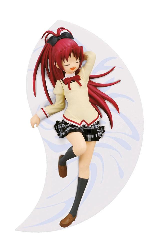 Puella Magi Madoka Magica The Movie Rebellion SQ Figure Kyoko Sakura Asleep Ver. 14 cm