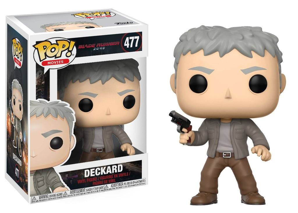 Blade Runner 2049 POP! Movies Vinyl Figure Deckard 9 cm