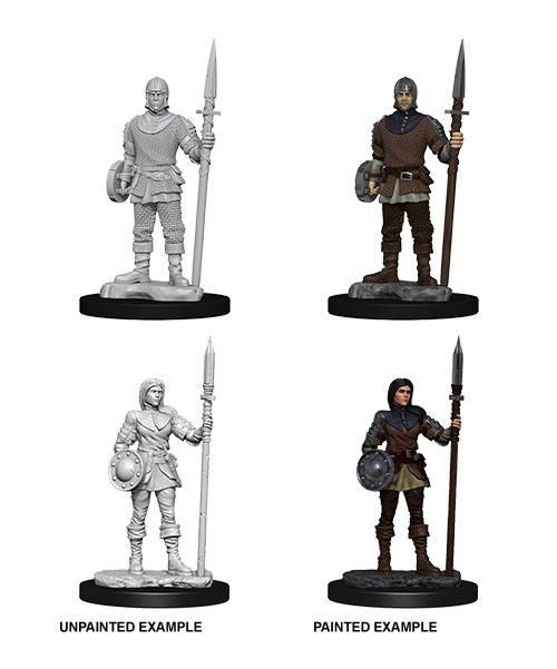WizKids Deep Cuts Unpainted Miniature Guards Case (6)
