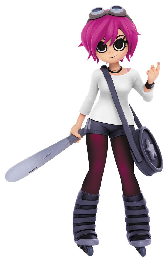 Scott Pilgrim Action Figure Ramona Flowers Previews Exclusive 22 cm