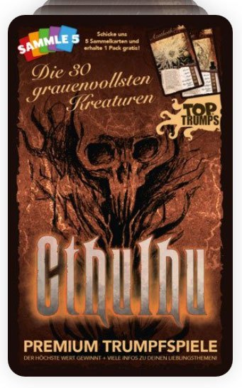 Cthulhu Card Game Top Trumps *German Version*
