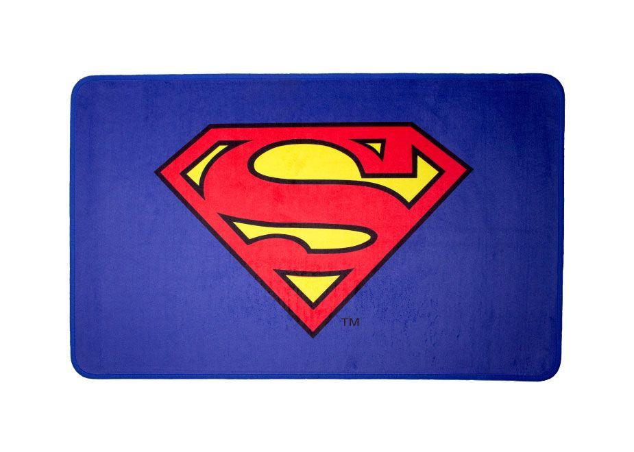 DC Comics Carpet Superman Logo 80 x 50 cm