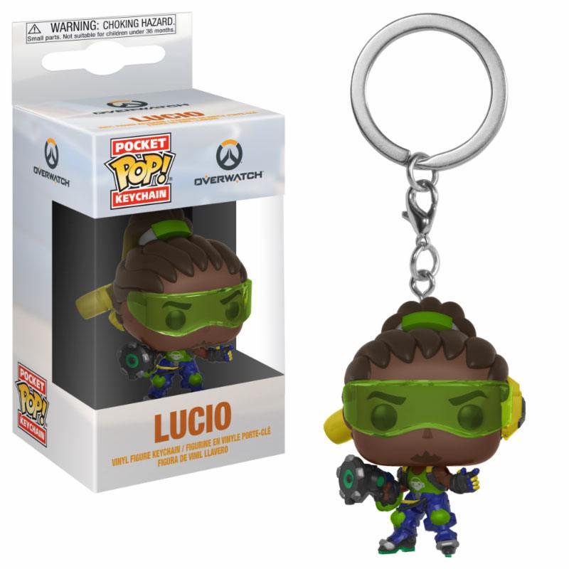 Overwatch Pocket POP! Vinyl Keychain Lucio 4 cm
