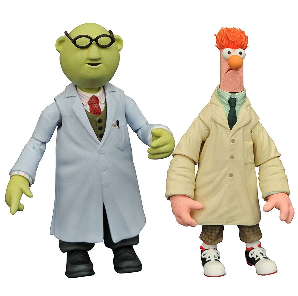 The Muppets Select Action Figures 10-13 cm 2-Pack Series 2 Becher & Bunsen