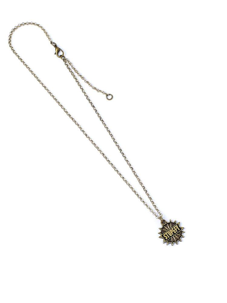 Fantastic Beasts Pendant & Necklace Stupefy (antique brass plated)