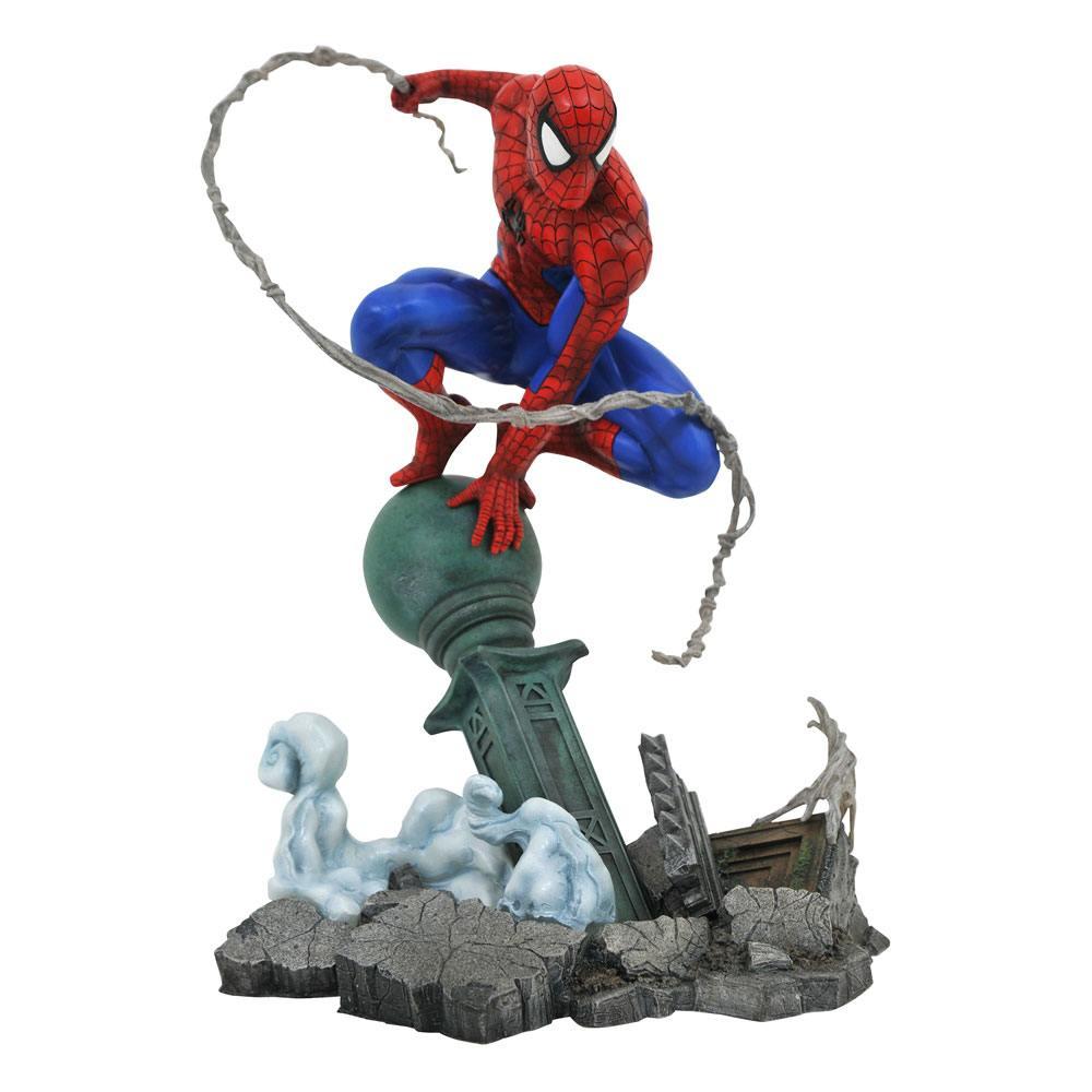 Marvel Comic Gallery PVC Statue Spider-Man Lamppost 25 cm