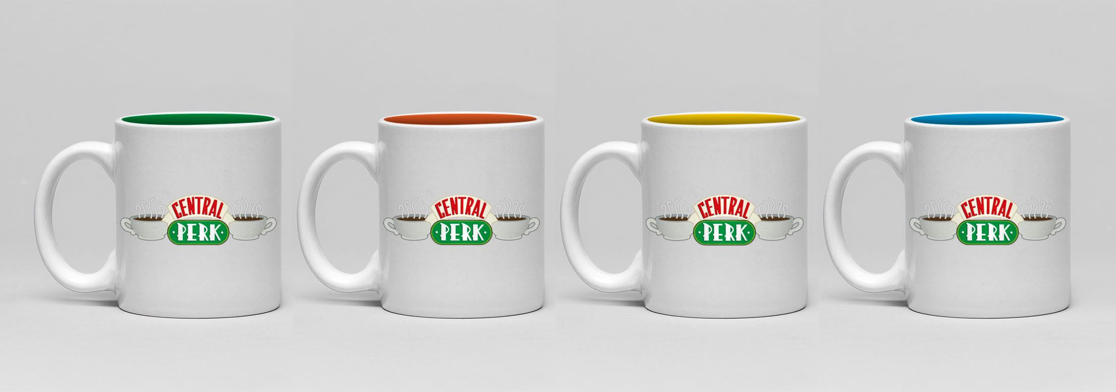 Friends Espresso Mugs 4-Pack Central Perk