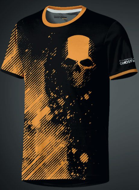 Ghost Recon eSport Gear Functional T-Shirt Skull Size S