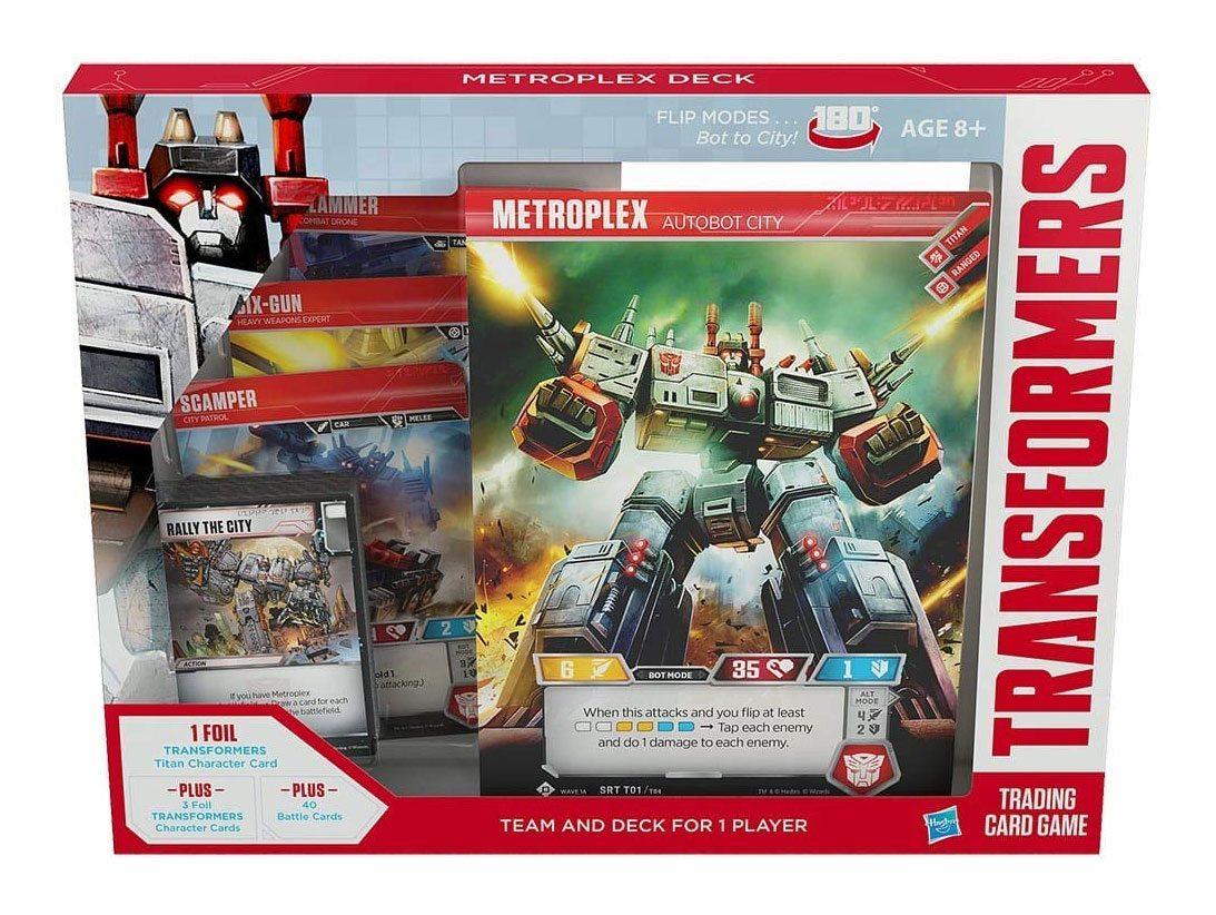 Transformers TCG Metroplex Deck english