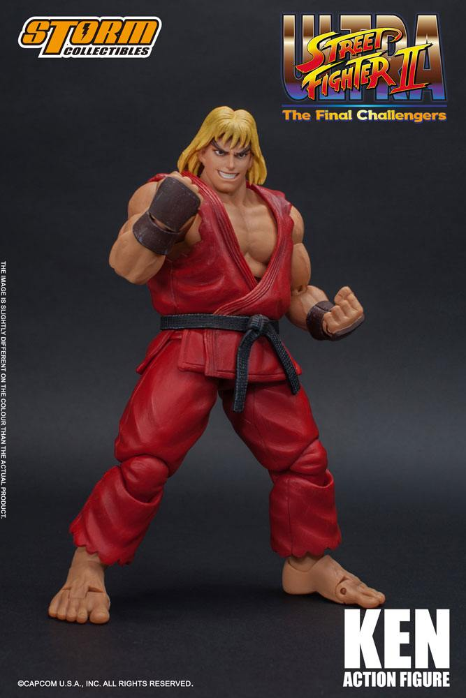 Ultra Street Fighter II: The Final Challengers Action Figure 1/12 Ken 16 cm