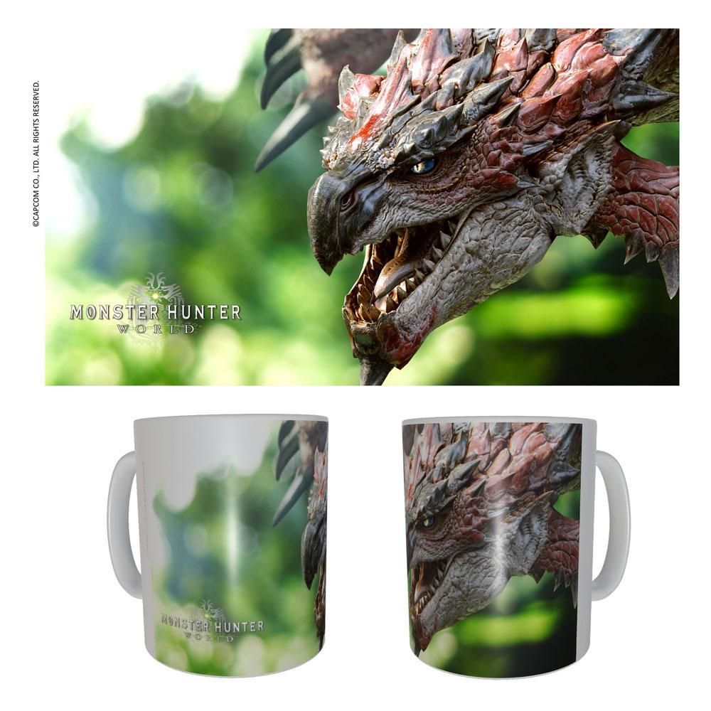 Monster Hunter Ceramic Mug Rathalos