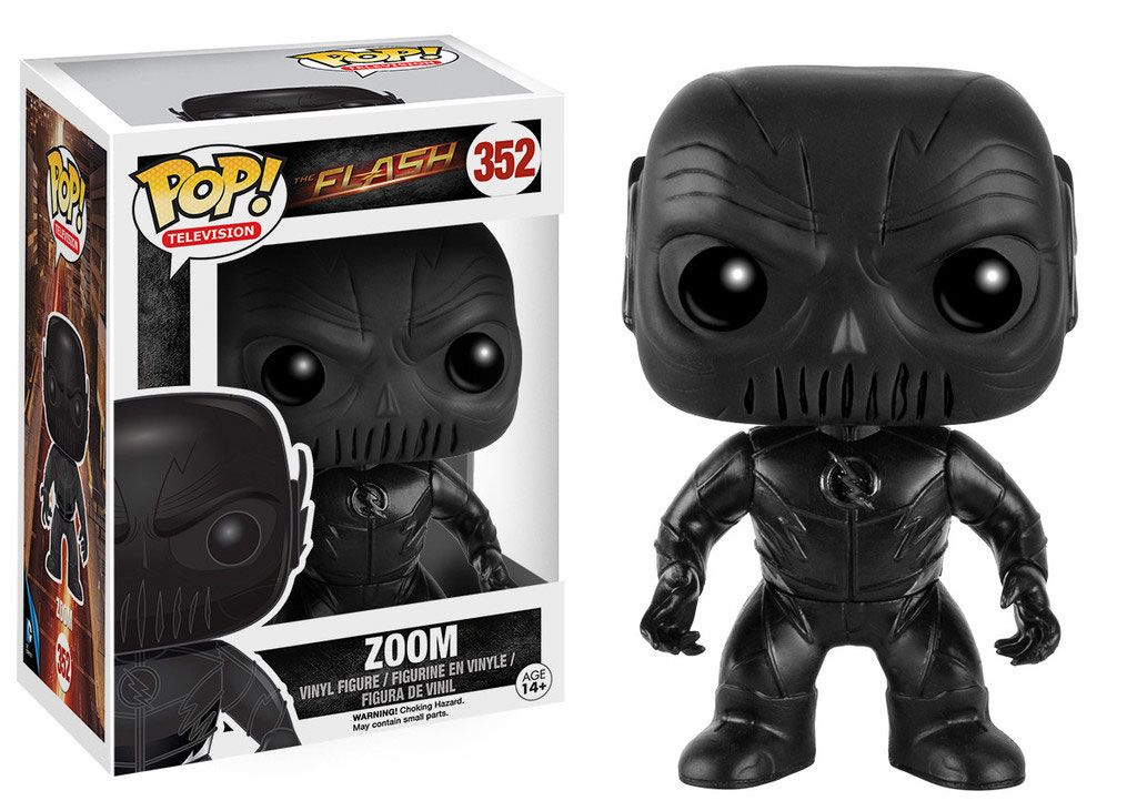 The Flash POP! Television Vinyl Figure Zoom 9 cm