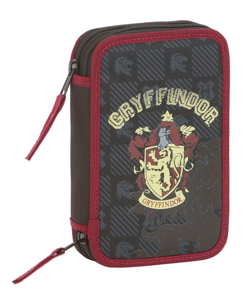 Harry Potter 28-Piece Double Pencil Case Gryffindor