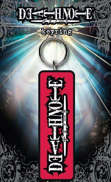 Death Note Rubber Keychain Logo 7 cm