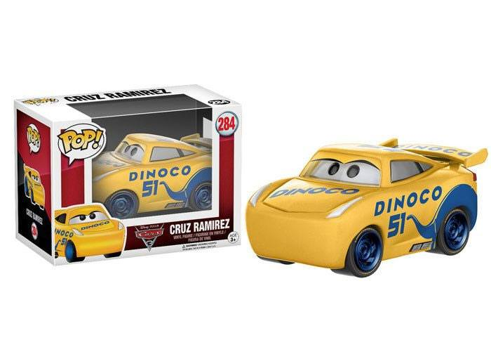 Cars 3 POP! Disney Vinyl Figure Cruz Ramirez 9 cm
