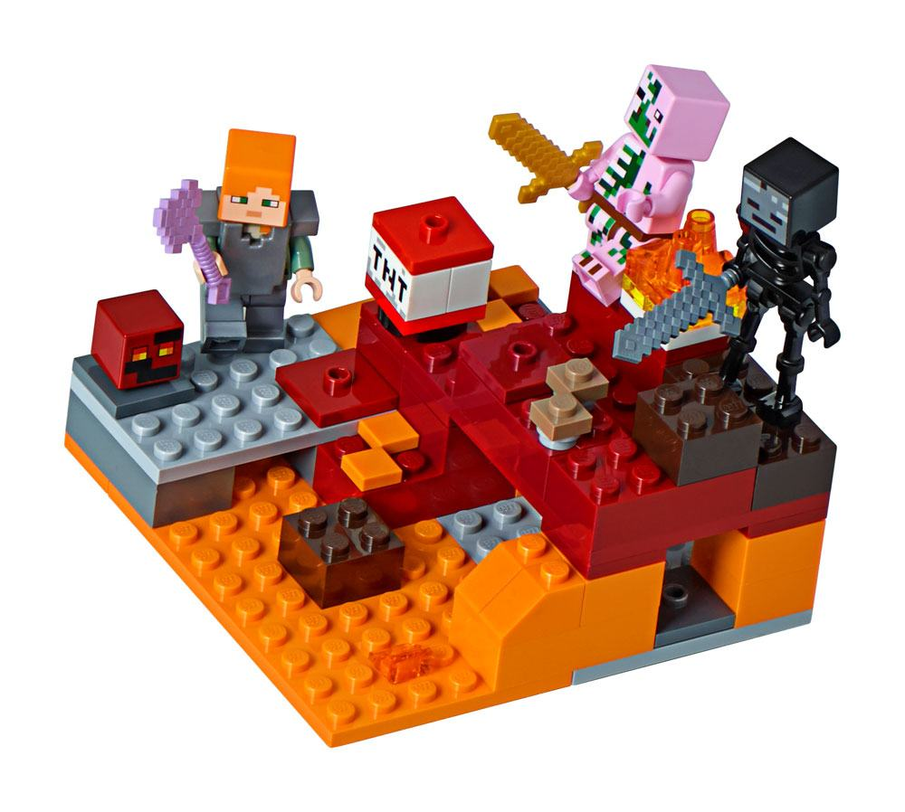 LEGO® Minecraft™ The Nether Fight