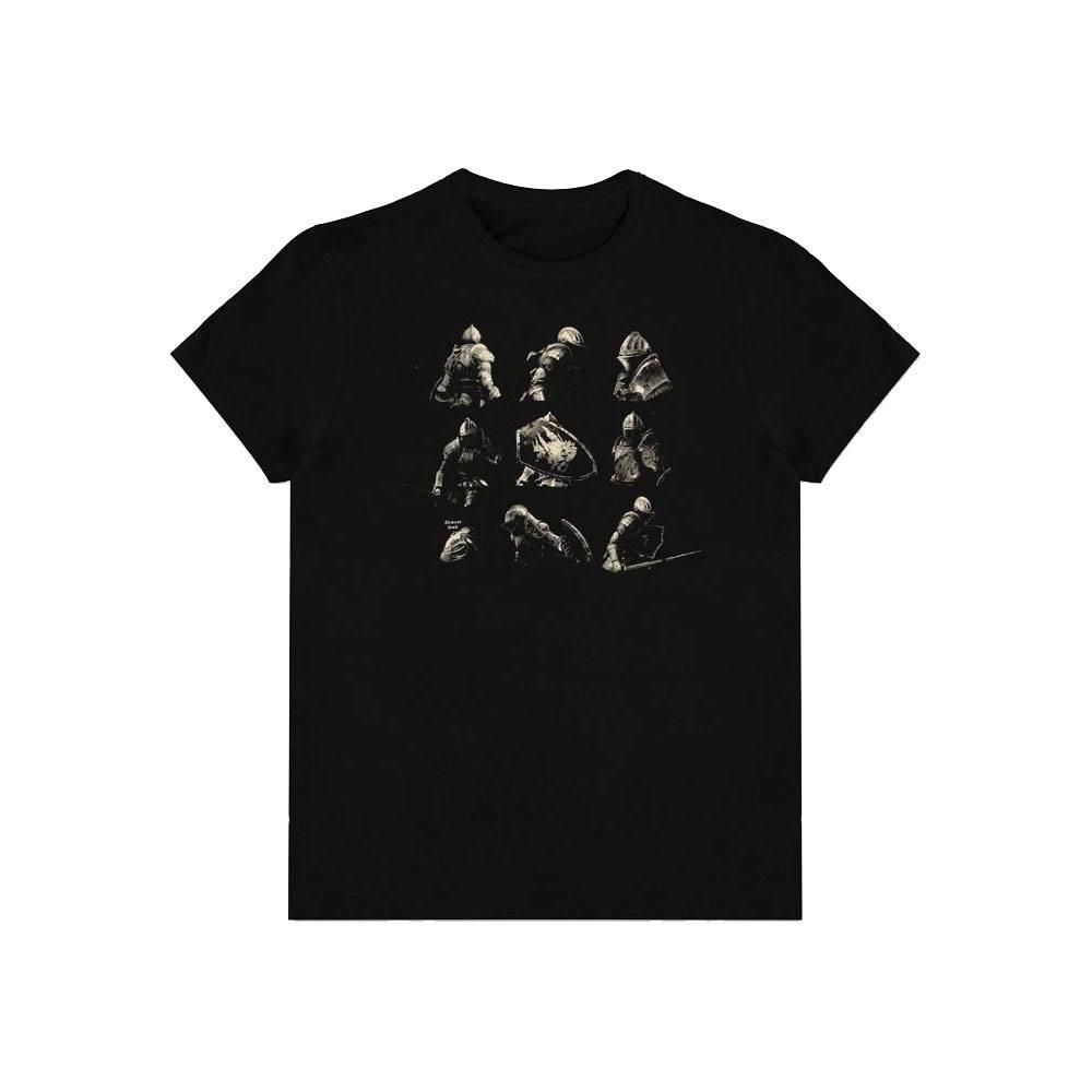 Demon's Souls T-Shirt Knight Poses Size M