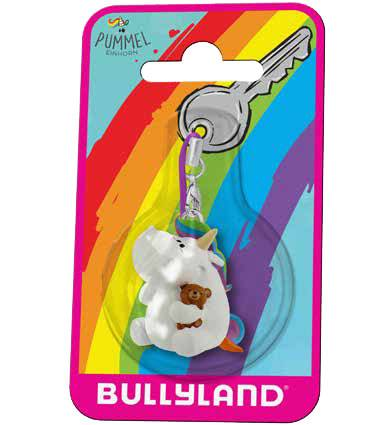 Chubby Unicorn Keychain Chubby Unicorn & Teddy 3 cm