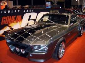 Gone in 60 Seconds Diecast Model 1/43 1967 Ford Mustang Shelby Eleanor